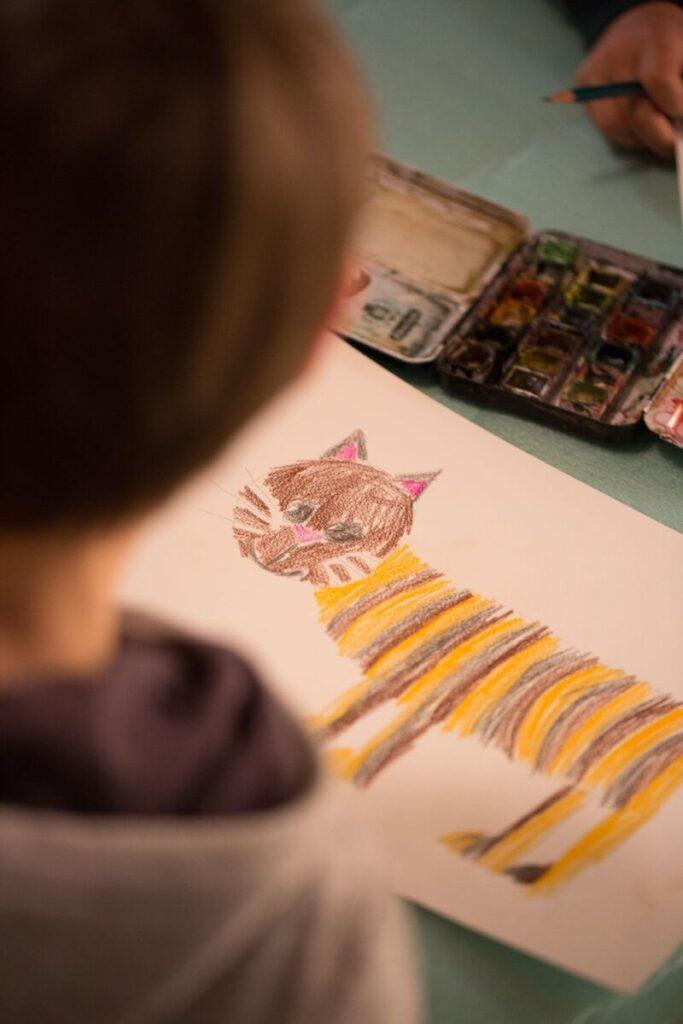 Kunstwerke Kindermalkurs Solothurn Trimbach Olten Basel