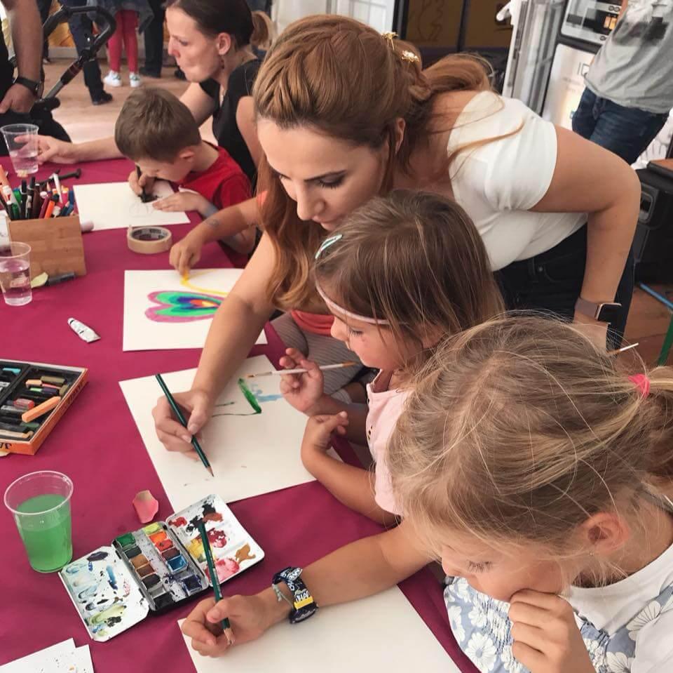 Berichte Herbstmesse Solothurn Kindermalkurs Solothurn Trimbach Olten Basel Malkurs