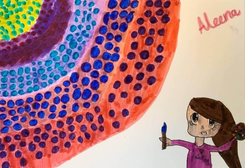 Kindermalkurse Solothurn Malkurse für Kinder Rozerinart Zeichnung 4